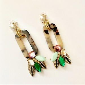 Stella & Dot Bell Statement Earrings